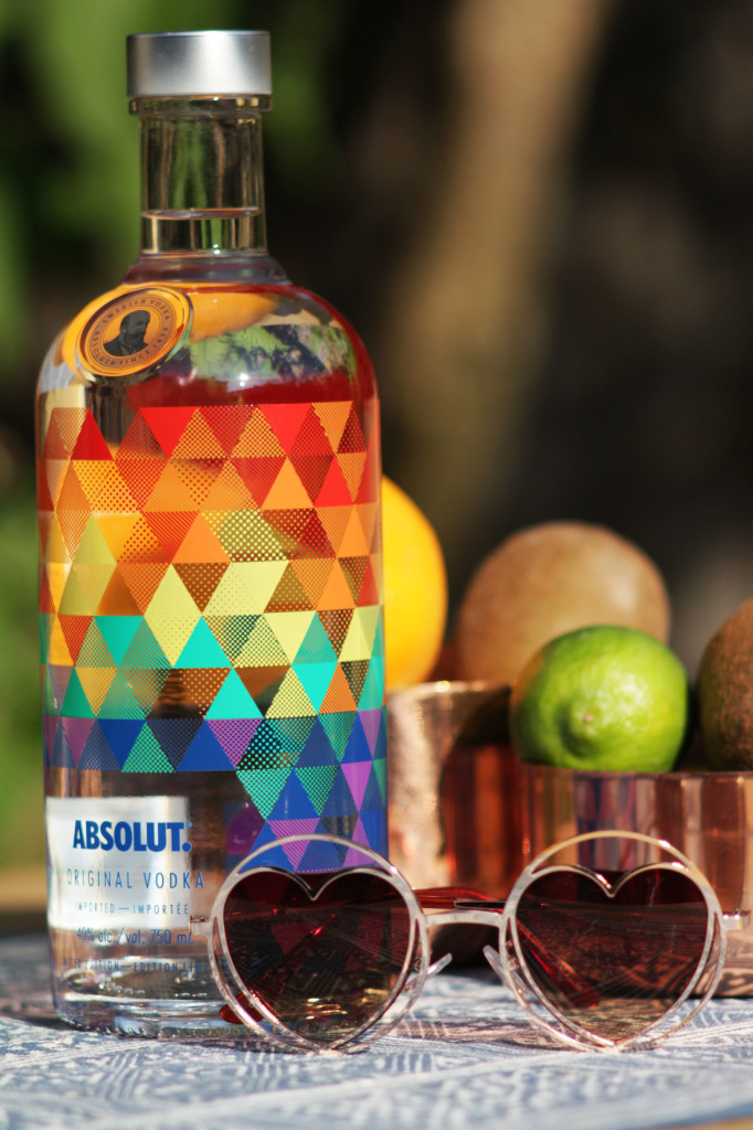 absolut mix - absolut pride bottle 2016 - Gracie Carrroll