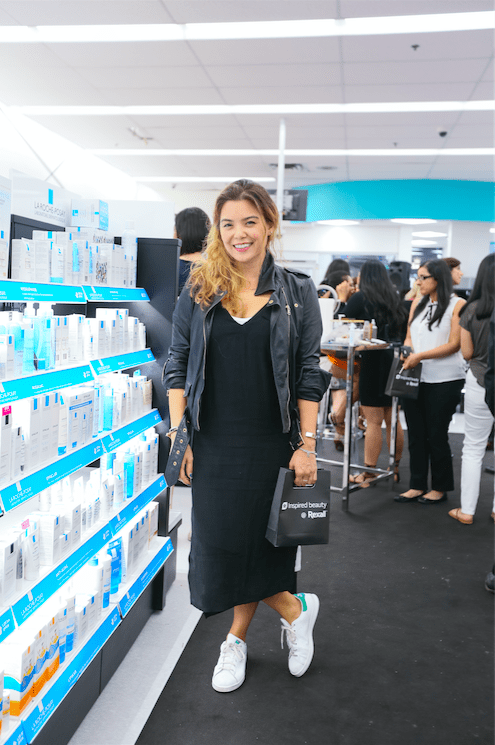 Discovering the new #InspiredBeauty Rexall Beauty Department