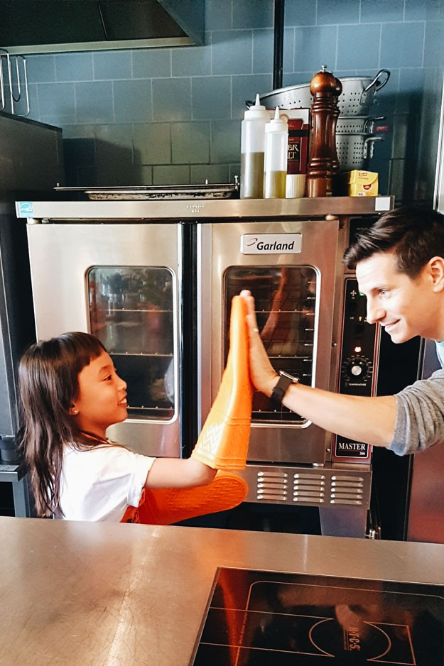 Uncle Ben's International Cooking With Your Kids Day - Gracie Carroll