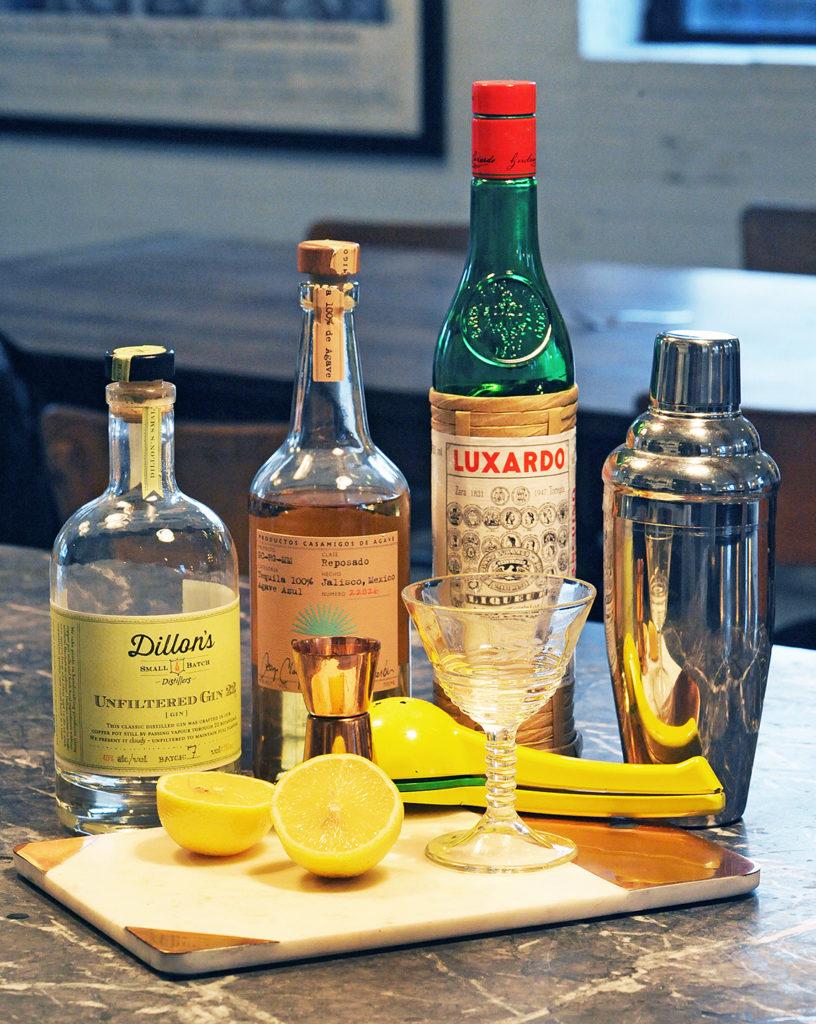 Gracie Carroll - Nasty Woman Cocktail with Casamigos, Dillon's Gin, Luxuardo