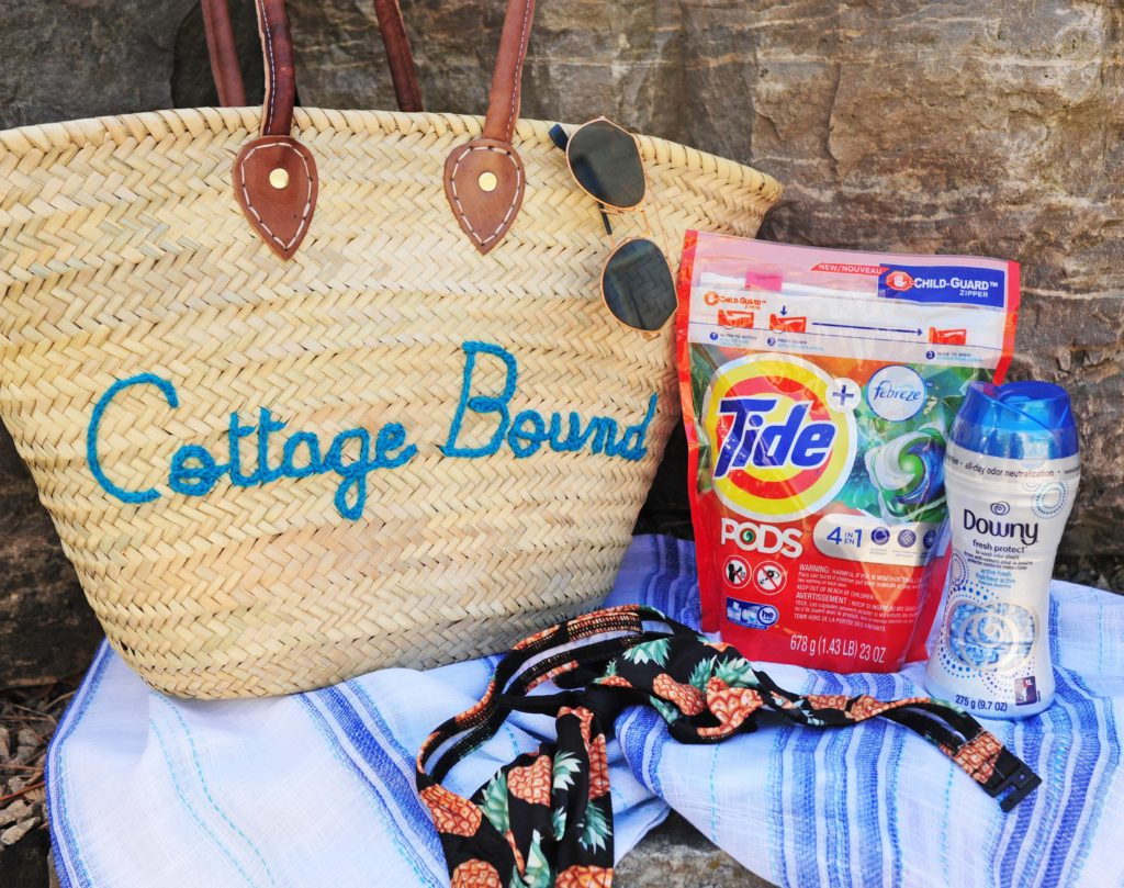 Gracie Carroll - Cottage Clothing Packing List - Tide Care Guide