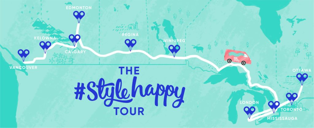 Chatters Style Happy Tour Toronto